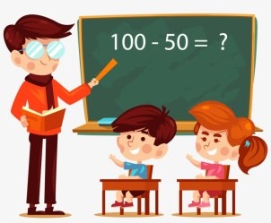 Student Teacher Learning Addition Classroom Primary School Teacher Cartoon PNG Image Transparent PNG Free Download on SeekPNG