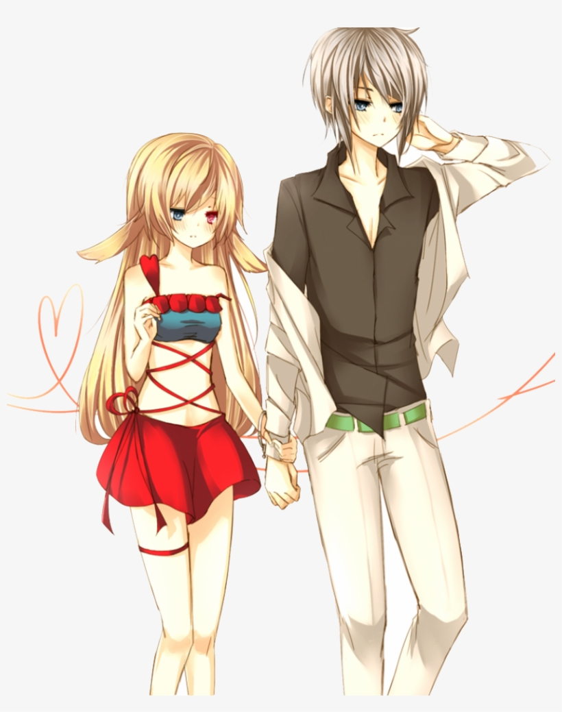Anime Couple Holding Hands : anime, couple, holding, hands, Anime, Couples, Holding, Hands, Walking, Image, Transparent, Download, SeekPNG