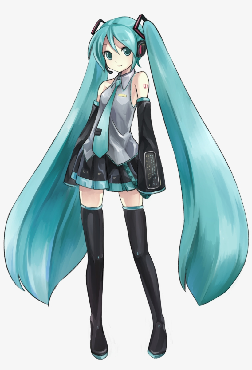 Miku Png : Fullsize, Hatsune, Image, Transparent, Download, SeekPNG