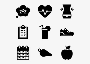 Health And Fitness Icon Png Video Icon Vector PNG Image Transparent PNG Free Download on SeekPNG