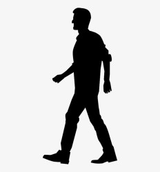 Medium Image Walking People Silhouette Png PNG Image Transparent PNG Free Download on SeekPNG