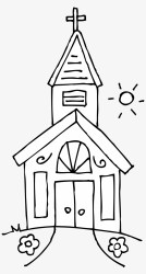 Png Royalty Free Library Black And White Church Clipart Church Black And White Clip Art PNG Image Transparent PNG Free Download on SeekPNG