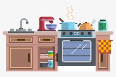 Kitchenware Animation Cartoon Kitchen Cabinets Cartoon PNG Image Transparent PNG Free Download on SeekPNG