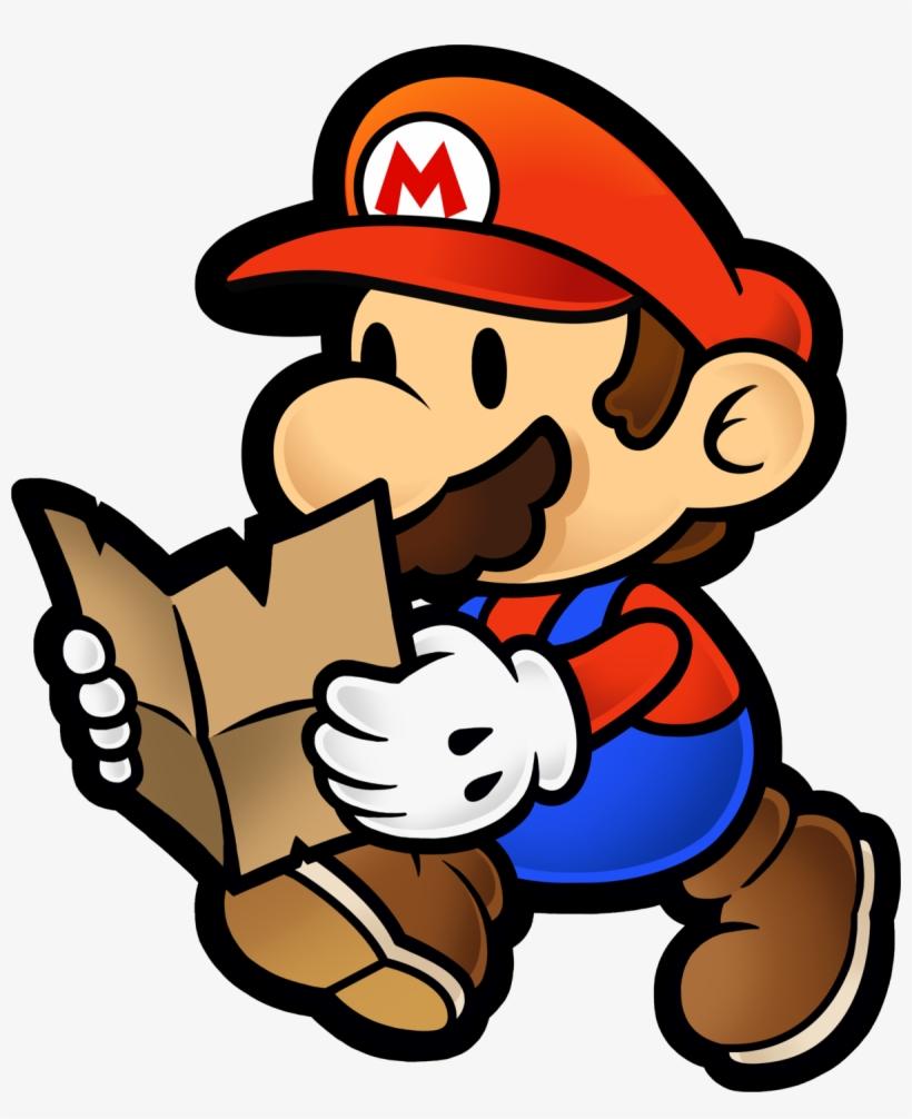 Paper Mario Render : paper, mario, render, Super, Mario, Paper, Thousand, Image, Transparent, Download, SeekPNG
