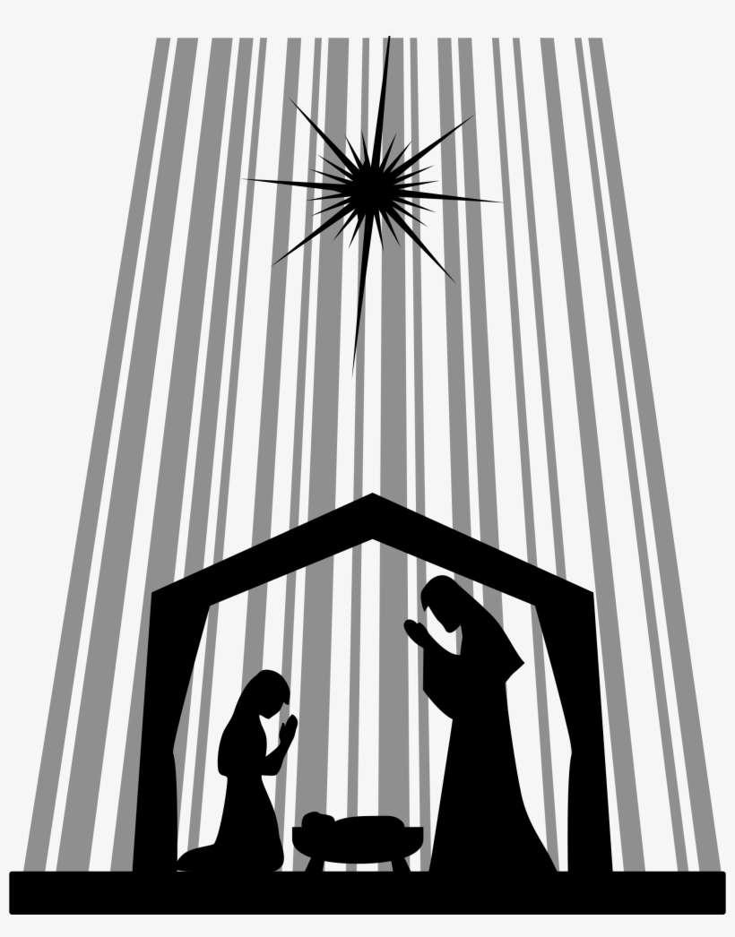 Manger Svg : manger, Royalty, Stock, Nativity, Silhouette, Manger, Image, Transparent, Download, SeekPNG
