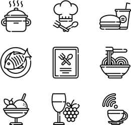 Restaurant Hand Drawn Icon Png Full Size PNG Download SeekPNG