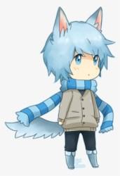 Png Download Chibi By Cheryu On Deviantart Anime Boy Blue Hair PNG Image Transparent PNG Free Download on SeekPNG