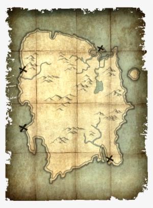 Summerset Treasure Map : summerset, treasure, Deathbrand, Treasure, Скайрим, Карта, Печати, Смерти, Image, Transparent, Download, SeekPNG