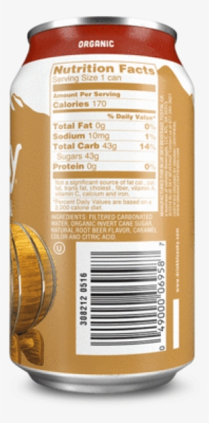 Not Your Father's Root Beer Nutrition Facts : father's, nutrition, facts, Nutrition, Facts, Image, Transparent, Download, SeekPNG