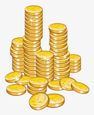 Money Stack Transparent : money, stack, transparent, Money, Stack, Coins, Clipart, Image, Transparent, Download, SeekPNG