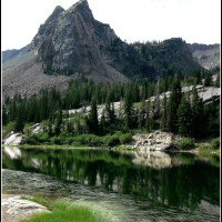 Sister Lakes - Lake Blanche