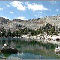 Upper Red Pine Lake, last....