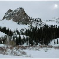 Sundial Peak in Winter