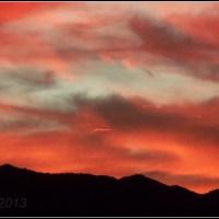 Phoenix Mountain Silhouette