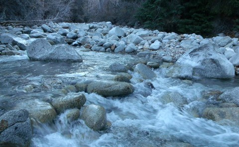 Little Cottonwood Canyon Stream in late November