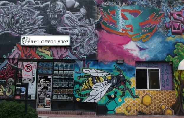 Korner Market mural left panel