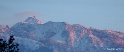 Lone Peak sunset