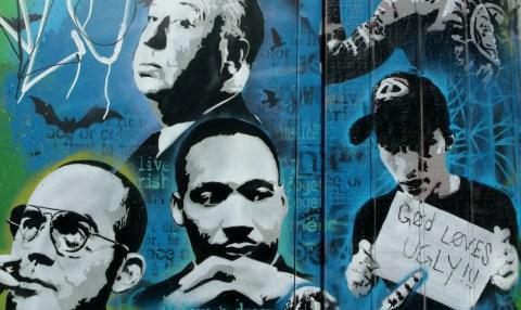 Utah Arts Alliance Legends mural close-up 7