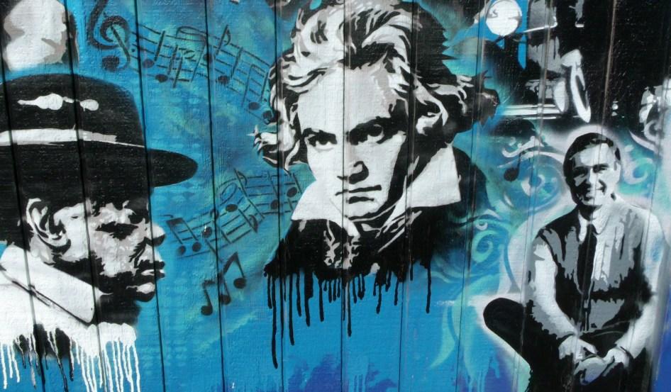 Utah Arts Alliance Legends mural close-up 8