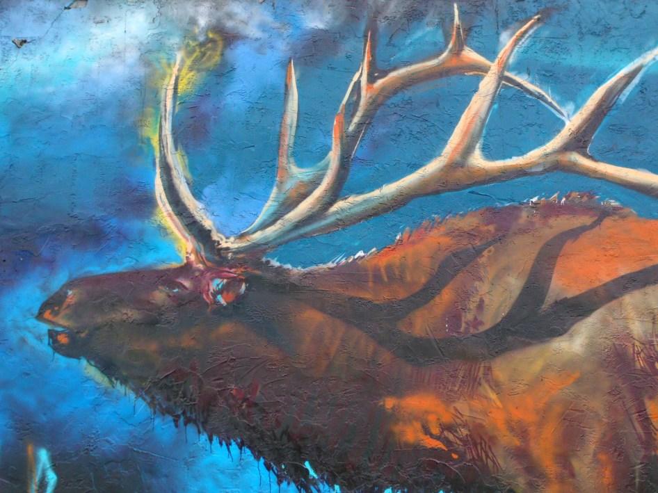 Gallenson's elk mural misc 1