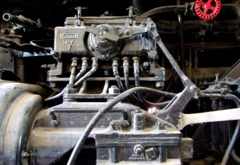 Misc railroad engine lines and valves