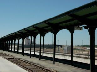 Union Pacific loading platform