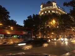 First day in Madrid, August 2016