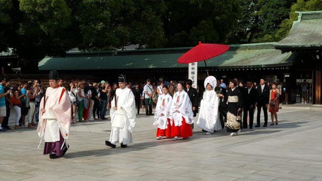 meji temple marriage