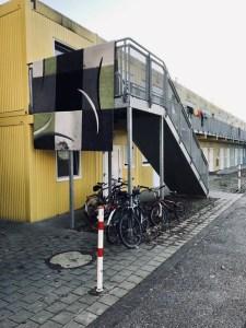 Flüchtlings-Container Pforzheim