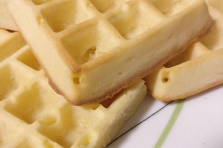 Buttermilch-Waffeln