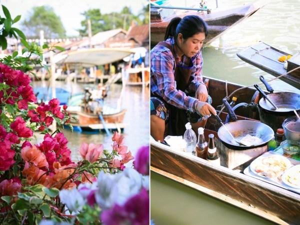 Travelguide Bangkok   Floating Markets   seelenschmeichelei.de