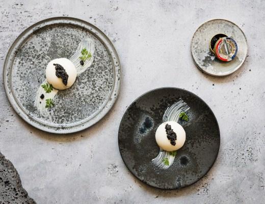 Blumenkohl Mousse mit weißer Schokolade und Kaviar | seelenschmeichelei.de