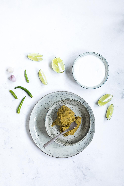 Gruenes Thai Curry mit Huhn | seelenschmeichelei.de