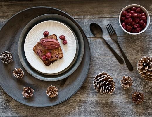 Weihnachtdessert Weihnachtskuchen mit Glühweineis | seelenschmeichelei.de