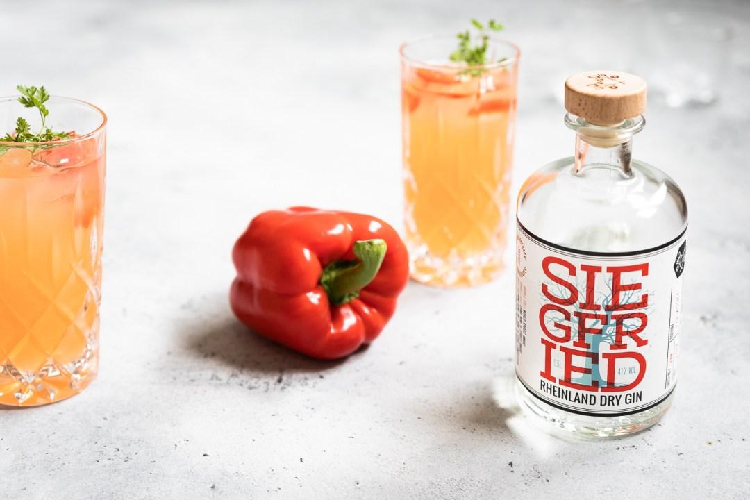 Gin Paprika Smash | Gin Cocktail mit Paprika |seelenschmeichelei.de