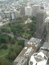 Sydney Tower: Blick auf den Hyde Park