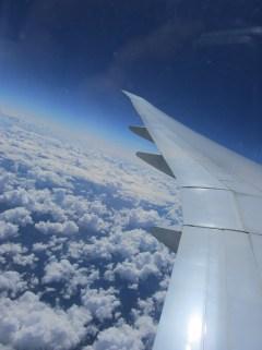 1 - über den Wolken, kurz vor Kanada