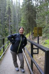 5 - Johnston Canyon - don't run on the catwalk, but pose