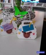 ... außerdem noch fix die kleinen Ostergeschenke für meine Mädels fertig gemacht.