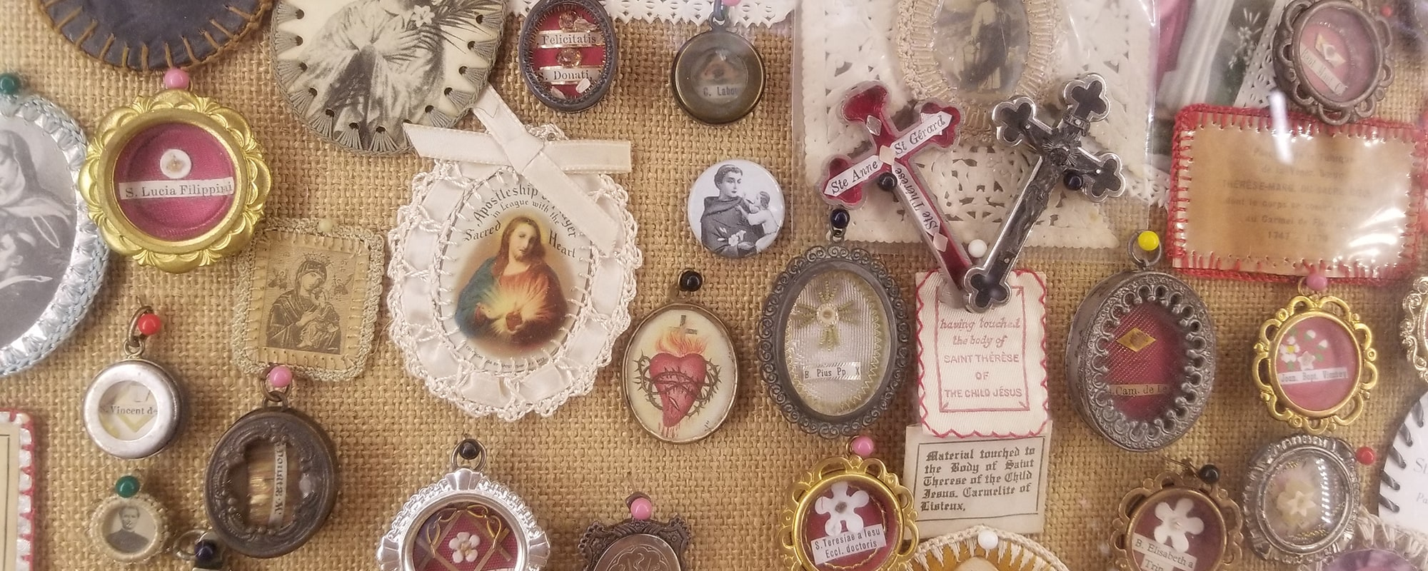 Saintly relics at the Seelos Shrine