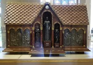 Reliquary housing the remains of Bl. Seelos