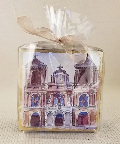 St. Alphonsus miniature watercolor