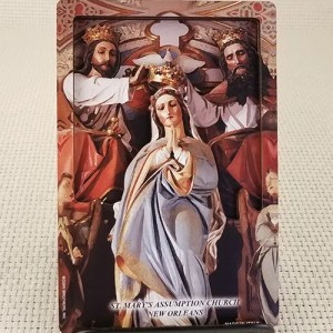 St. Mary's High Altar 3D Woodcut Wall Plaque