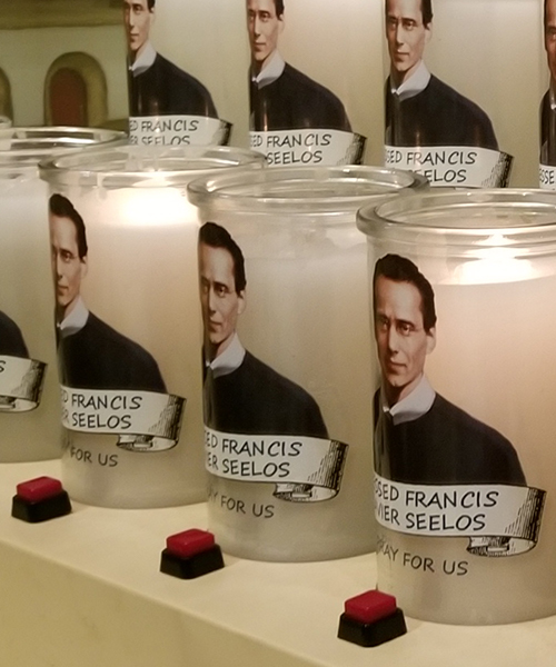 Photo of Shrine Electric Candle Lighting Donation