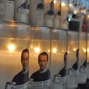 Wax candle lighting donation