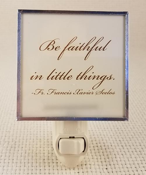 Be Faithful nightlight