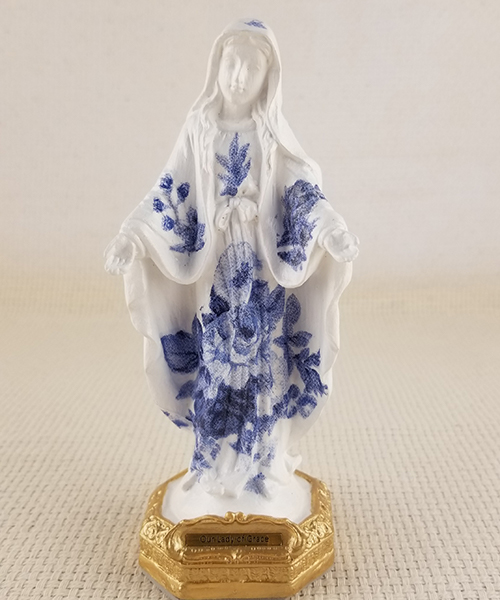 Small Our Lady of Grace statue