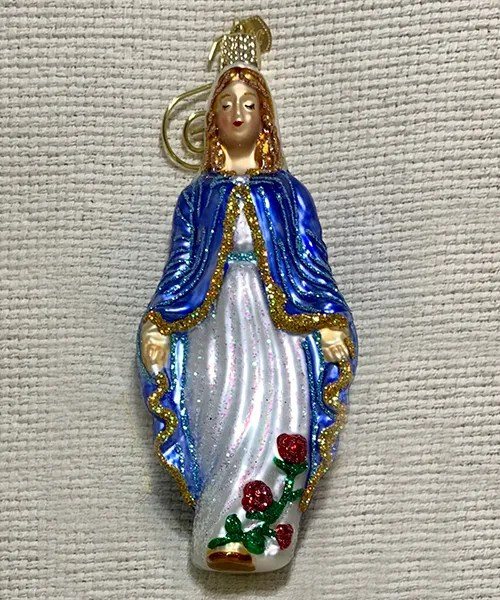 Old World Mary ornament