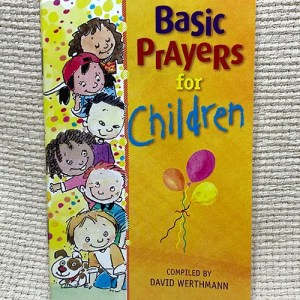 Basic Prayers for Children pamphlet