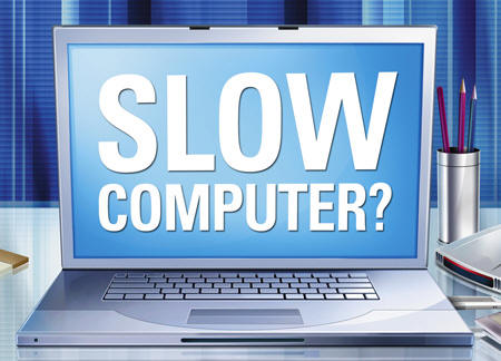 TECH TIP:  Your computer is not slow, your programs are.